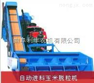 小型拖拉机玉米脱粒机 曲阜小型拖拉机玉米脱粒机