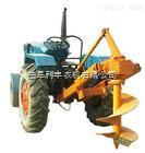 大型挖坑机 大型拖拉机挖坑机