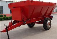 厂家直销大容量双盘输送式撒肥车撒粪车拖拉机牵引农业施肥机械