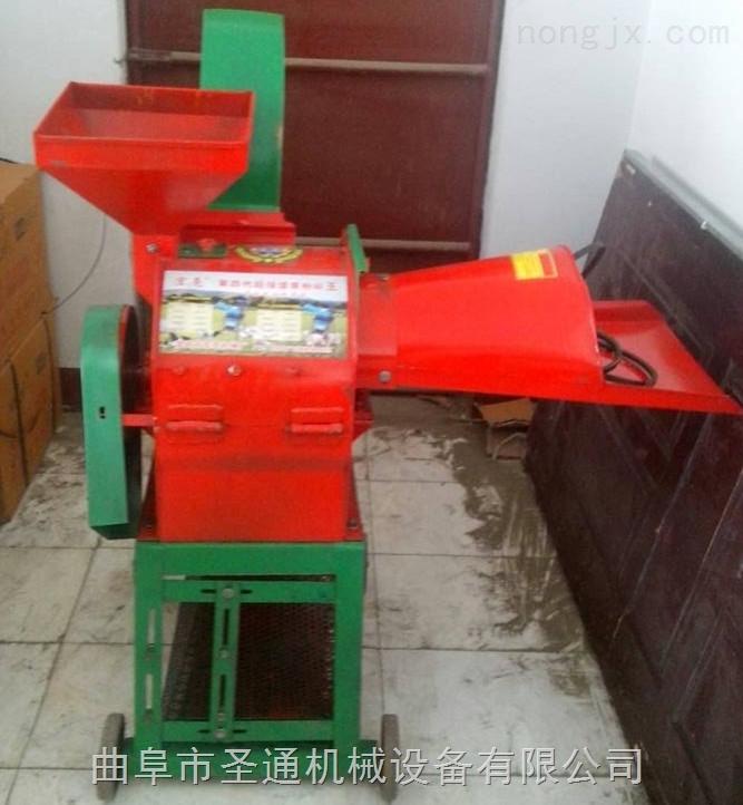 中小型养殖专用秸秆粉碎机 立式干湿两用秸秆粉碎机
