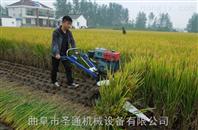 大棚茴香低茬收割机 小型转向灵活水稻收割机