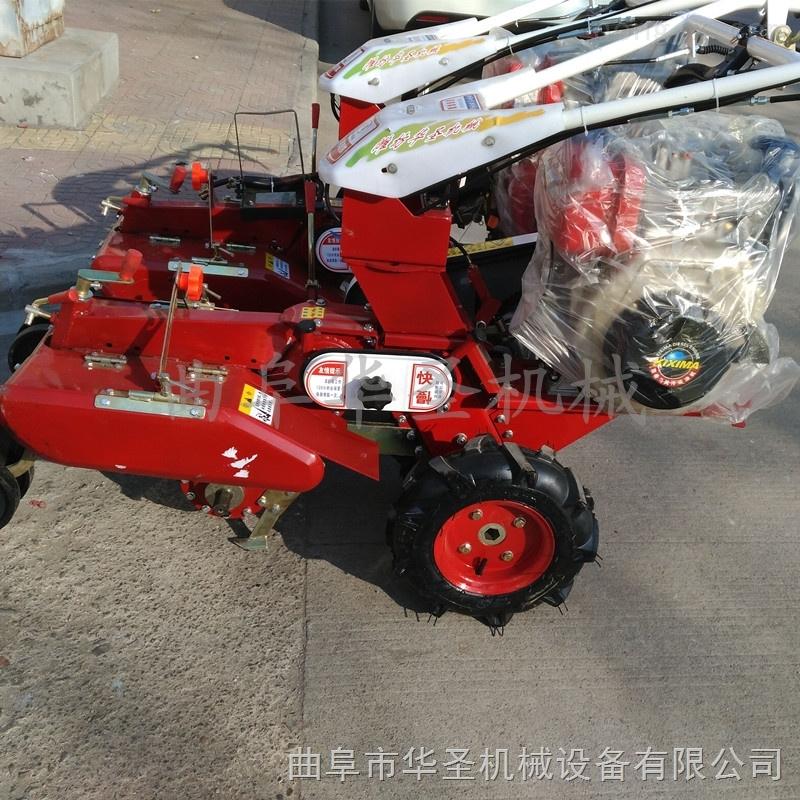 高效轮式开沟机 手扶开沟培土机厂家