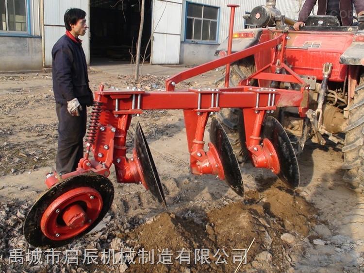 大量供应圆盘犁 开荒犁 适合50马力四轮拖拉机使用1LYT-325圆盘犁