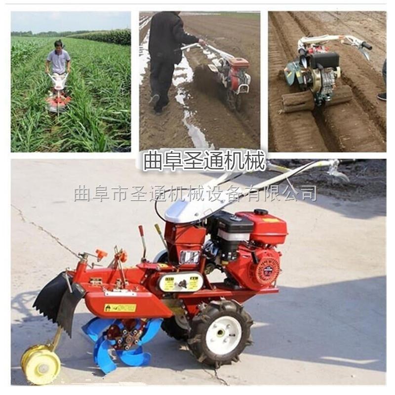 安寧桑園管理培肥土壤開溝機 微型自走式中耕機