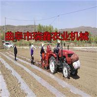 花生种植覆膜机 省时省力喷药覆膜机 玉米播种施肥机厂家