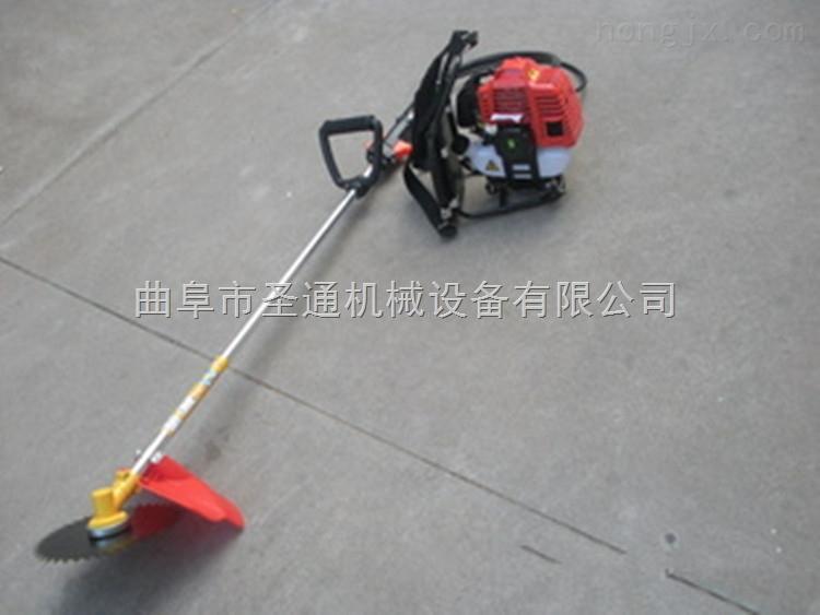 汽油大马力多功能割草机 背负式小型谷物收割机