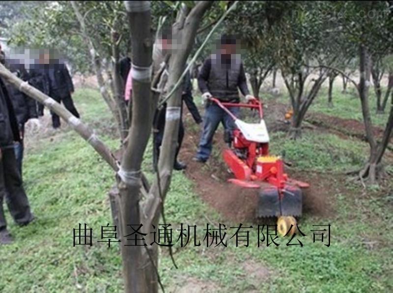 果園春耕疏松土壤開溝機 排澇引水開溝機