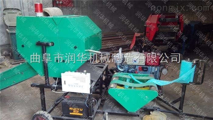 专业生产打捆包膜机厂家 打捆机  半自动包膜机价格
