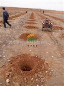 手提便携式挖坑机 拖拉机带动的打洞机