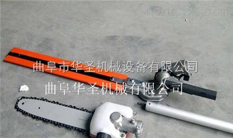 对接长杆高枝锯 燃油轻型长枝锯