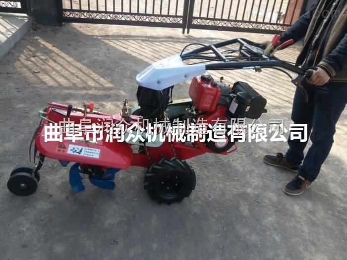 多功能小型微耕機廠家 土地耕整開溝培土管理機