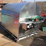 50斤滚筒炒货机 多功能滚筒式炒货机 全自动炒货机