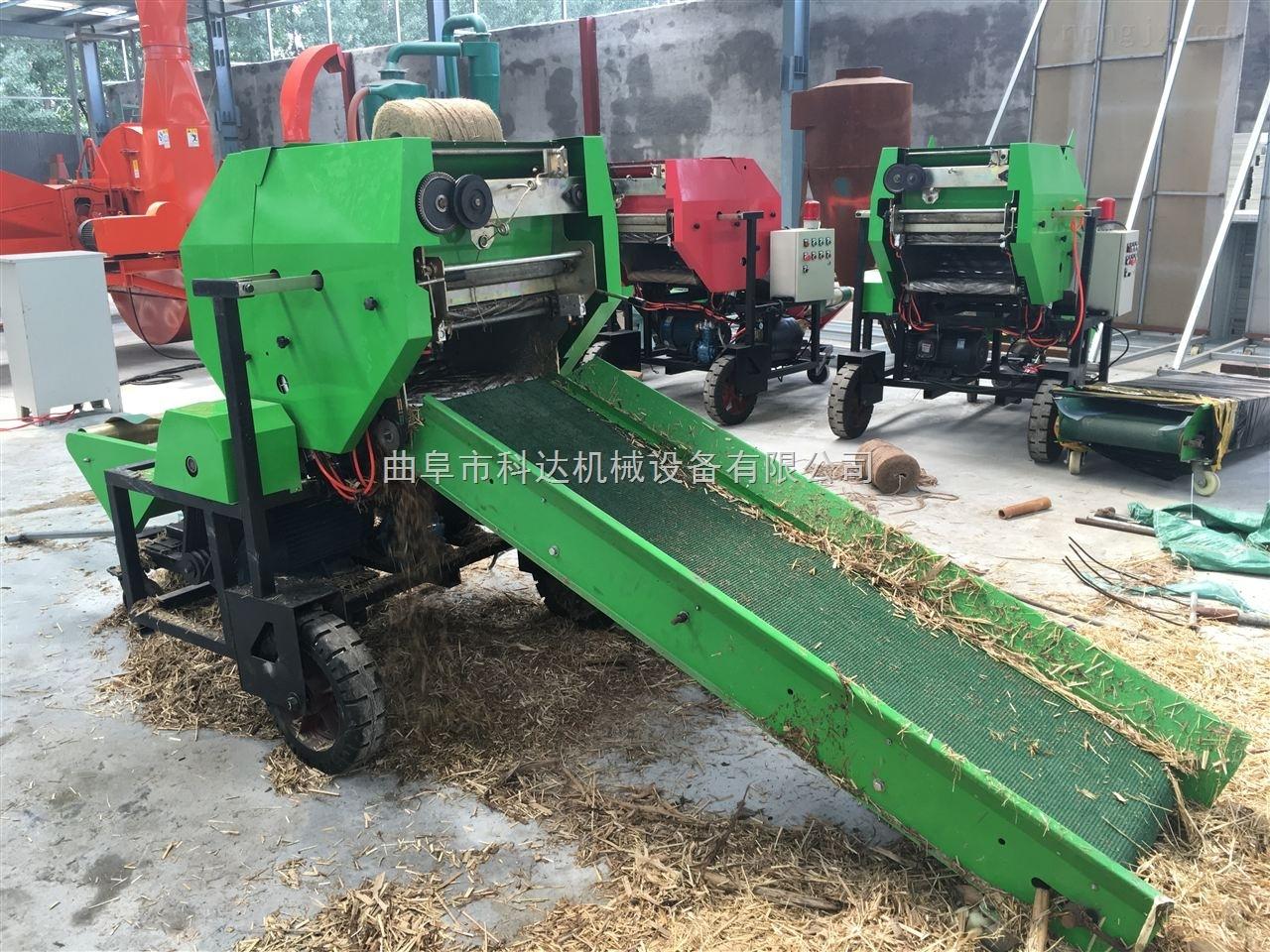 供应牛羊养殖场用青玉米秸秆打捆包膜机