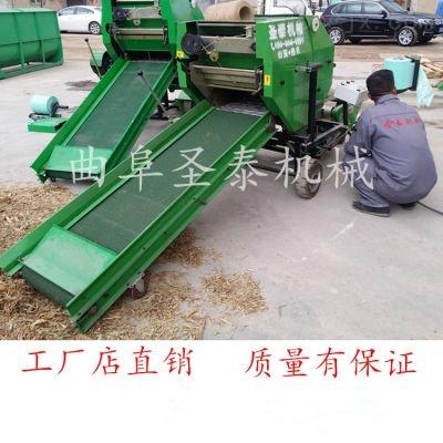 牧草自动包膜青贮打捆机ST-5552B
