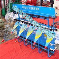 水稻收割机 4GL120型稻麦微型割晒机 手扶四轮割台