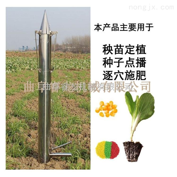 专用移栽器栽苗机蔬菜幼苗移栽机厂家效果