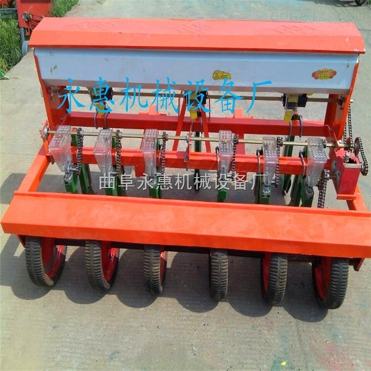 新型谷子播种机 小颗粒播种机 四轮玉米免耕播种机