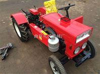 优质侧坐小四轮拖拉机 大棚果园小型田园管理机 侧坐式四轮拖拉机