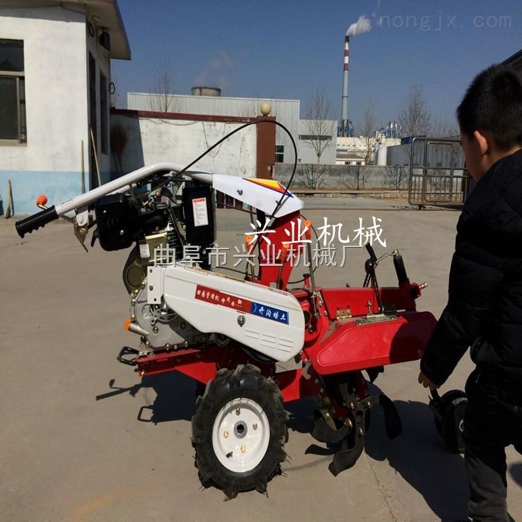 甘蔗芋頭開溝培土機果園施肥開溝機優質新款果園微耕機