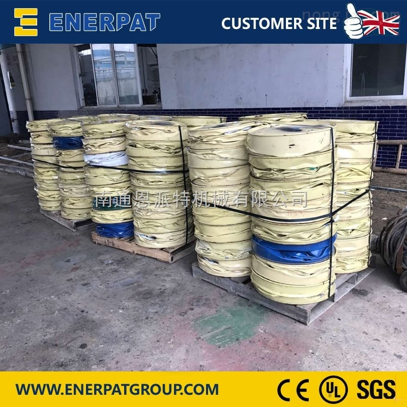 化工厂专用铁桶压扁机,英国技术
