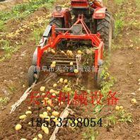 丰收土豆干净的土豆收获机多功能覆带式土豆收货机 工作效率高的土豆收获机