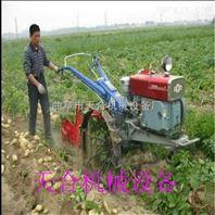 四轮拖拉机用土豆收果机 马铃薯杀秧收获一体机价格