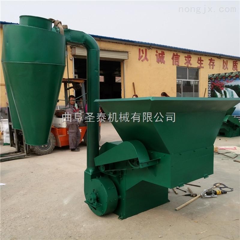 柴油机秸秆粉碎机 玉米秸秆草粉机械