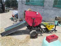 小麦秸秆打捆包膜机型号 全自动打捆包膜机