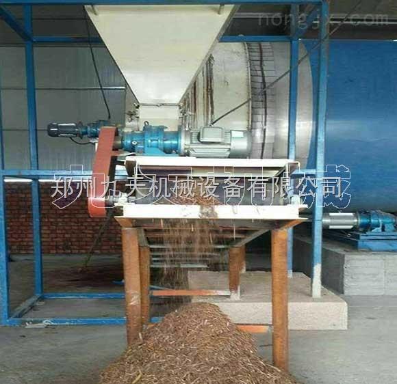 秸秆牧草烘干机,秸秆颗粒燃料生产设备,秸秆制碳设备_郑州九天机械