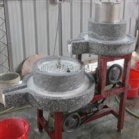 供应山东手摇电动杂粮磨粉石磨机 大豆豆浆石磨机