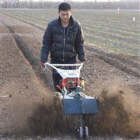 大葱开沟培土机 多功能培土机
