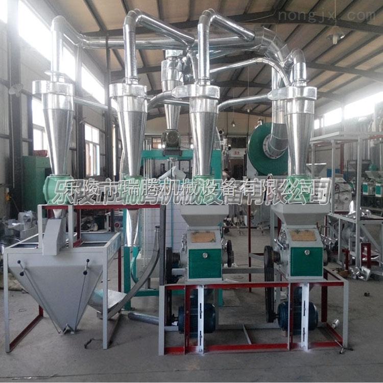 小麦加工机械设备小型面粉加工机器磨面机器生产厂家磨面机械价格