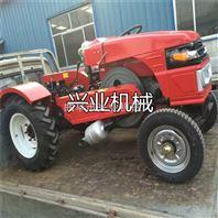 小型四轮拖拉机绿化除草松土机单缸四轮拖拉机