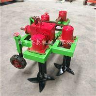 四轮拖拉机带大蒜收获机 大蒜挖掘机价格