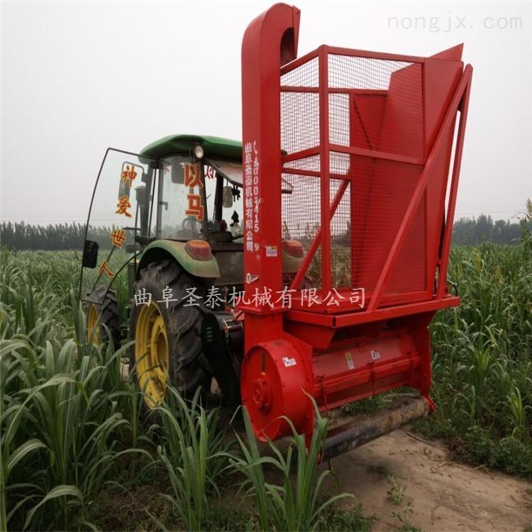 玉米秸秆收割粉碎机 秸秆青储粉碎回收机