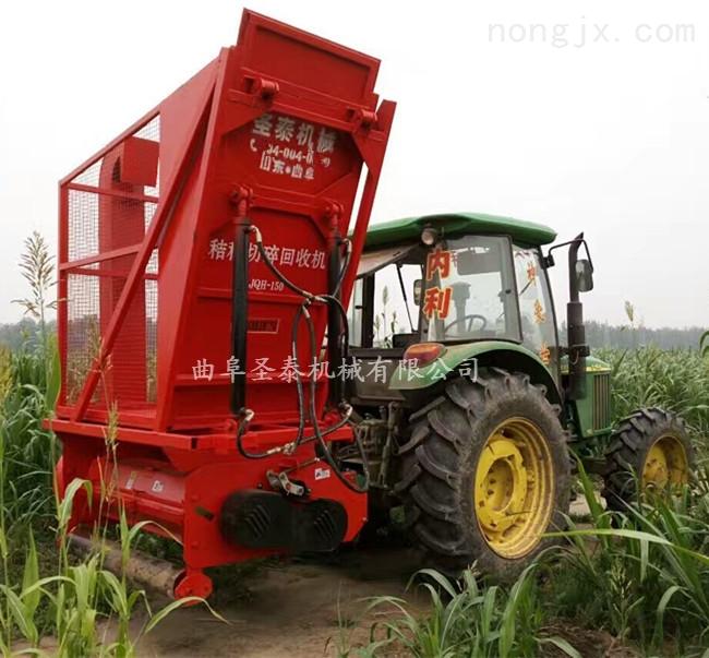 玉米秸秆青贮机秸秆粉碎回收机图片