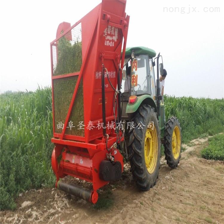 养殖秸秆粉碎回收机 青贮秸秆收获机