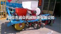 拖拉机带动花生播种机 辣椒播种覆膜机 播种施肥机