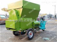 节能高效撒料车 柴油撒料车 双侧出料撒料车