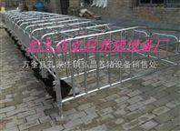 销售李欢欢教你猪场怎么安装保胎母猪限位栏