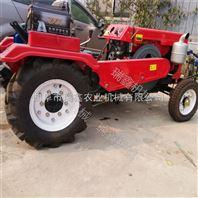 热卖旱田水田旋耕机大型四轮多宽幅带动的收割机