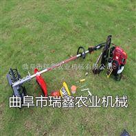 小型背负式割草机 便携式大棚松土除草机 果园专用微耕机