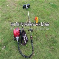 汽油背负式锄草旋耕机 四冲程的除草旋耕机 农用汽油式除草机