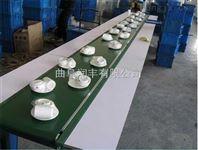 饲料装车输送机 可移动爬坡输送机 斜坡装卸车皮带机