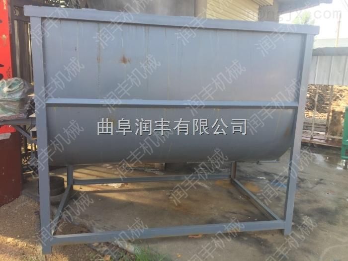 RF JB-5-牲畜饲料混料机 养殖场使用搅拌机 双螺旋搅拌机