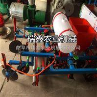高效农用双行花生覆膜机起垄覆膜机棉花喷药覆膜机
