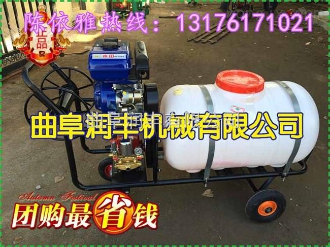 可调压力农用高压喷雾器 自走三轮车打药机