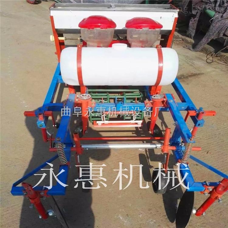 河北热卖新款花生播种机,四轮带动的花生玉米多功能播种施肥机