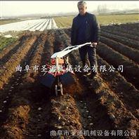 云南三七药材培土机 自走式多功能开沟机