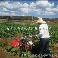 农用小型地瓜打垄机 手拉启动田园管理开沟机